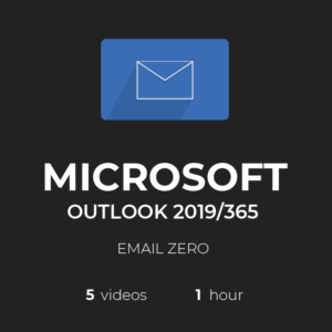 MS Outlook 2019/365: Email Zero