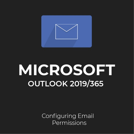 how to configure and delegate permissions in Outlook