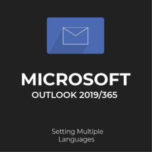 How to set multiple languages in outlook