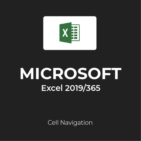 how to move around cells in Excel