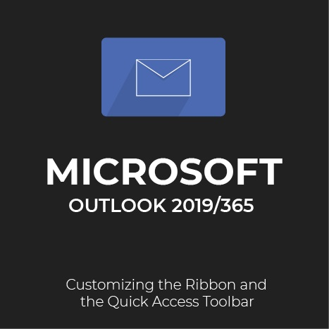 How to customize the ribbon and quick access toolbar in Outlook