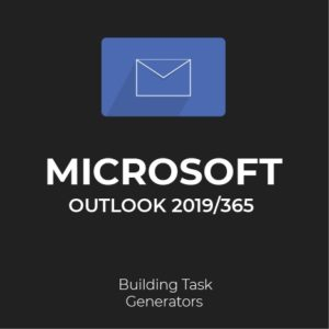 MS Outlook 2019/365: Generating Standard Tasks