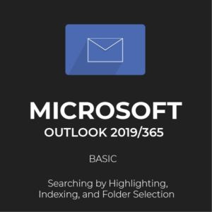 MS Outlook 2019/365: Search Options
