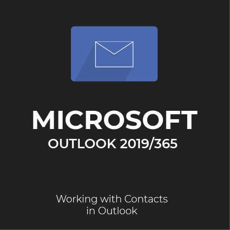 How to find contacts in Outlook