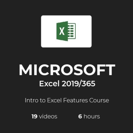 Beginners course for Excel